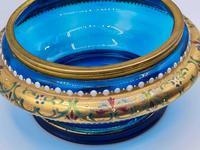Antique 19th Century Moser Glass Enamel Box (6 of 11)