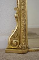 Victorian  Overmantle Mirror (6 of 9)