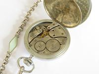 1920s Limit No 2 Pocket Watch with Later Chain (5 of 5)