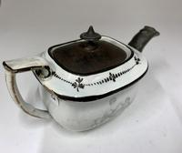 Regency Pearlware Pottery Toy Tea Pot circa 1815 (9 of 11)