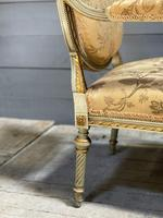 Super Pair of French Upholstered Armchairs (25 of 26)
