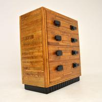 Art Deco Solid Oak Chest of Drawers (3 of 12)