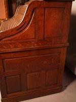 Good Oak Roll Top Desk by Maples London (5 of 12)