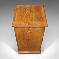 Antique Side Cabinet, English, Ash, Bedroom Night Stand, Pot Cupboard, Victorian (8 of 12)