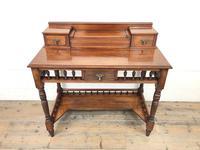 Antique Edwardian Mahogany Desk (5 of 12)
