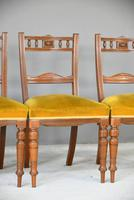 6 Victorian Walnut Dining Chairs (3 of 10)