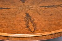 Exceptional Quality Large, Figured Walnut Victorian Centre Table (2 of 6)