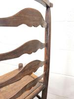 Pair of Antique Ladder Back Chairs (8 of 8)