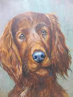 Oil on board my faithful friend Listed artist Richard Britton (5 of 10)