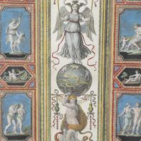 Set of Four Studies of Raphael Frescoes (5 of 6)