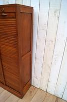 Oak Tambour Filing Cabinet (8 of 8)