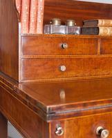 George III mahogany ladies writing desk or 'cheveret' (7 of 9)