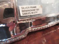 Pair of George V Period Silver Photo Frames (8 of 8)