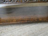 19th Century Carved Oak Cupboard / Dresser (9 of 16)