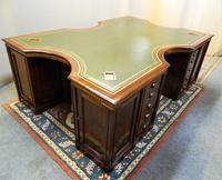 Large Mahogany Desk