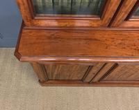 Fine Quality Figured Mahogany Library Bookcase (15 of 17)