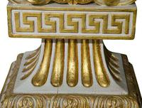 Pair of William Kent Style Marble Topped Small Pier Tables (6 of 7)