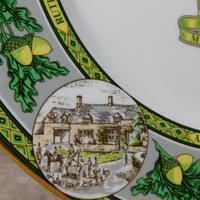 "Limited Edition Caverswall ""Rutland County"" Plate (7 of 8)"