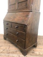 Antique 18th Century Welsh Oak Two Stage Bureau Cupboard (11 of 15)