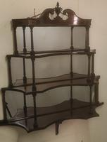 Rare Matching Pair of Victorian Wall Shelves (8 of 9)