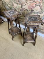 Pair of 19th Century Inlaid Stands (7 of 7)