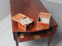 Antique George III Mahogany Pembroke Tea Caddy Table (13 of 13)