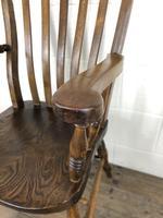 Victorian Ash & Elm Windsor Armchair (7 of 12)