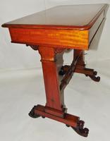 Scottish Late Regency Mahogany Writing Table (5 of 8)