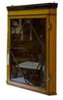 Fine Quality Edwardian Glazed Satinwood Corner Cabinet (2 of 5)