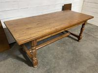 Oak Farmhouse Dining Table with Extensions (12 of 18)