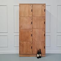 Vintage Wooden School Lockers c.1960 (2 of 5)