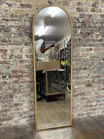 Art Deco Oak Mirror (4 of 4)