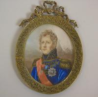 Outstanding Portrait Miniature. Marshall of the Empire. Michel Ney (3 of 6)