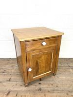 Rustic Antique Pine Side Cupboard (2 of 8)