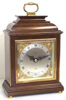 Perfect Vintage Mantel Clock Caddy Top Bracket Clock by Elliott of London Retailed by Malory of Bath (5 of 12)