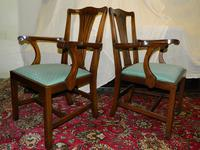 Set of 10 Mahogany Dining Chairs (8 of 8)