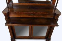 George IV Rosewood Chiffonier Display Cabinet (8 of 8)