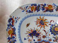 "19th Century, ""Pekin Stone China"" Ironstone Plate (2 of 5)"