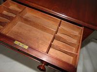 Regency Mahogany Work Pembroke Table (6 of 8)