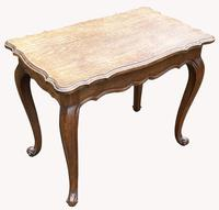 Good Quality Early 20th Century Solid Oak Side Table (2 of 6)