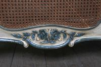 Art Nouveau Style French Caned / Bergere King Size Bed (8 of 9)