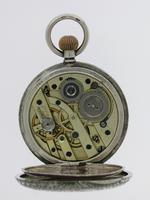 Silver Waltman Swiss Half Hunter  Pocket Watch 1900 (3 of 7)