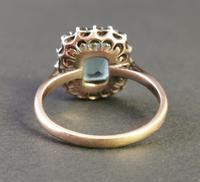 Antique Victorian Aquamarine & Garnet Ring, 9ct Gold (6 of 10)
