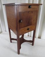 19th Century Georgian Mahogany Pot / Bedside Cupboard (13 of 13)