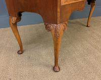 Burr Walnut Bow Fronted Dressing Table (11 of 19)