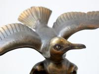 Art Deco Bronze Swooping Seagull (2 of 6)