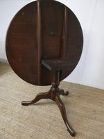 Extra Large 18th Century English Tilt Table (3 of 9)