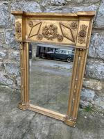 19th C Gilt Pier Mirror With Original Bevelled Plate (3 of 5)