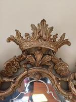 Fine English 18th Century Antique Gilt Mirror Pier Glass (6 of 10)