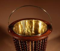 Beautiful Mahogany Tea Stove Bucket / Peat Bucket Jardinière (3 of 11)
